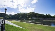 ・吉野川の風景