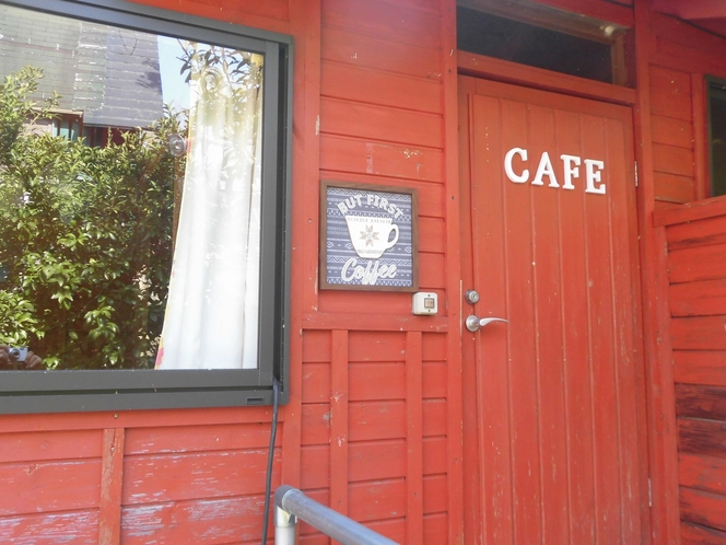 森のカフェ