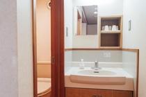 客室内 洗面・トイレ
