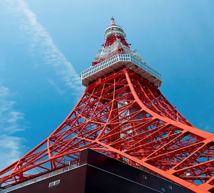 期間限定!!東京タワー限定ミネラルウォーター付き<朝食付き>