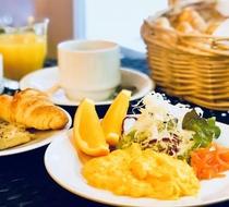 一日の始まりは美味しい朝食から♪