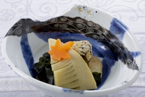 若竹の煮物(和食メニュー)