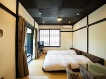 ◆離れ&露天風呂付◆和室8帖ツイン(15㎡)[禁煙]