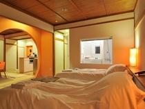 エグゼクティブスタジオの客室(オレンジ)
