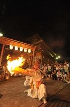 湯澤神社例祭 天狗の舞