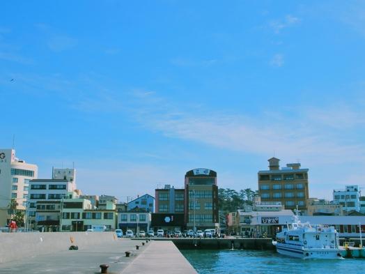 【素泊まり】ゆっくり自由な旅を応援!のんびり島時間を満喫♪【名鉄海上観光船20%OFF】