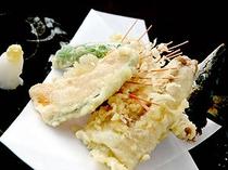 さんま天ぷら盛り合わせ