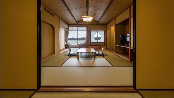 7月17日〜全室禁煙【夕陽亭】和室/10+6畳◆広間食
