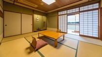 新秋亭(2階/10畳一間)部屋一例
