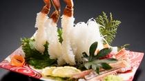 タグ付き松葉ガニカニ刺し(別注)
