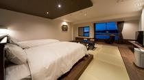 源泉掛け流し風呂付客室 4階「鹿子(かこ)」