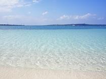 【パイナガマビーチ】宮古島市街地より徒歩で行けます♪