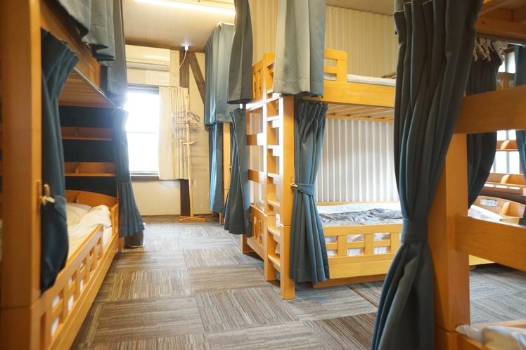 男女共同ドミトリー Mixed dormitory