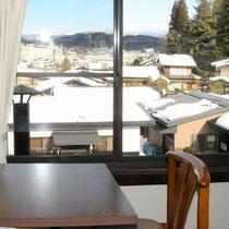 エコルーム1-2名様部屋からの眺め The View is from Economy Twin