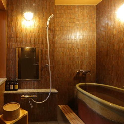 半露天風呂付き客室(部屋指定なし)◆陶器風呂付
