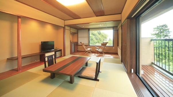 【禁煙】温泉半露天風呂付「特別室」和室10畳+ベッドルーム