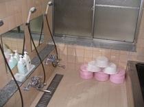 小浴室(ご家族貸し切りにてご利用いただくことも可能です。)