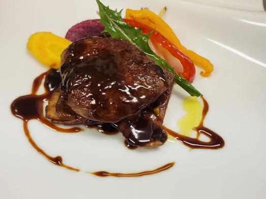 グレードアッププラン♪贅沢に牛フィレ肉とオマール海老のコースプラン 一泊二食付