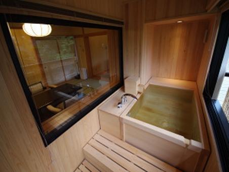 源泉掛流し露天風呂付客室【今心亭】99平米+御風呂テラス禁煙