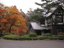 せきや駐車場【旧志賀山文庫】紅葉