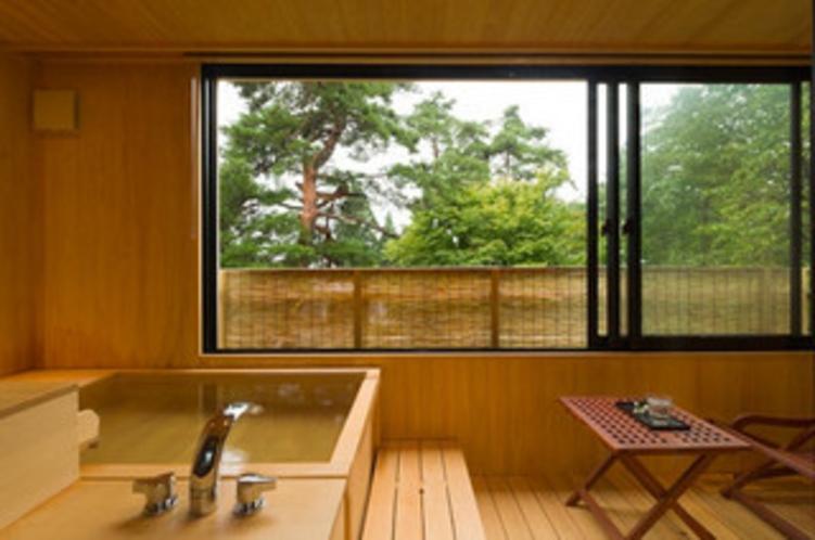 今心亭2階客室【桔梗】源泉掛け流し露天風呂