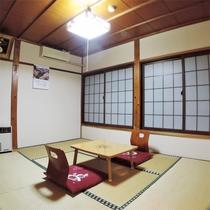 *和室6畳一例/1名~2名様用の純和風のお部屋。ネット環境もOK♪