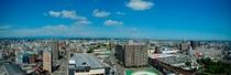 宮崎市内を一望するホテルからの眺望(北側)