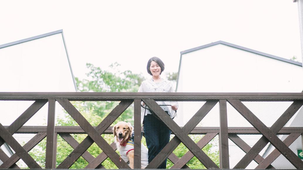 ワンコと一緒に軽井沢旅♪ワンコも私ものびのび過ごせる
