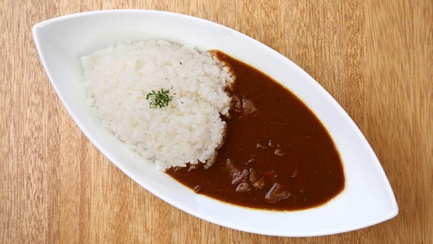 エローイズカフェの選べる朝食 三笠ホテルビーフカレー