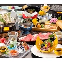 グレードアッププラン夕食 ※イメージ