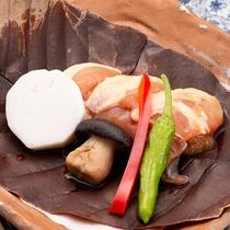 伊達鶏朴葉焼き※イメージ