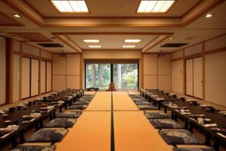 50名が利用できる宴会場。様々な会合でお使い頂けます。