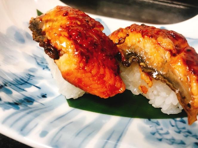 鰻の握り寿司