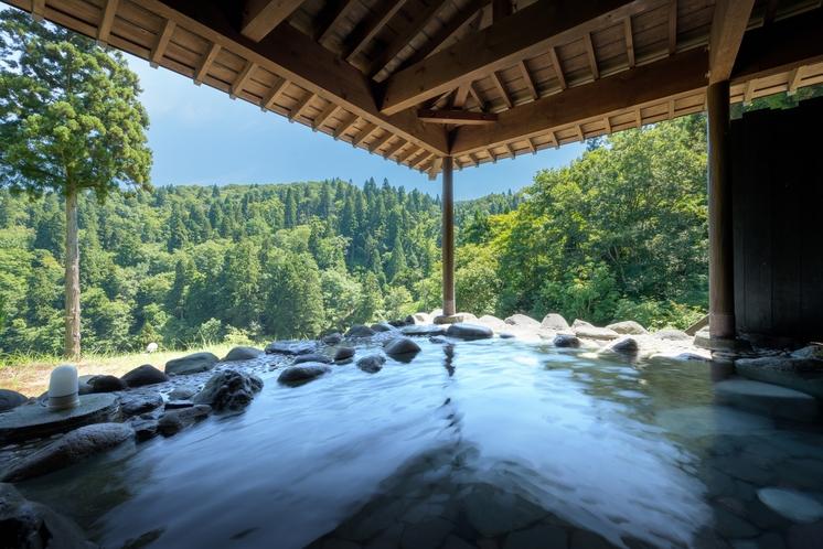 初夏の大浴場