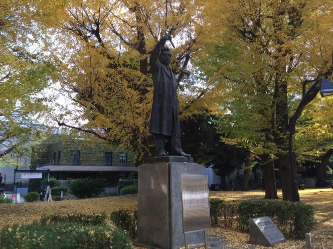 ◆野口英世銅像◆