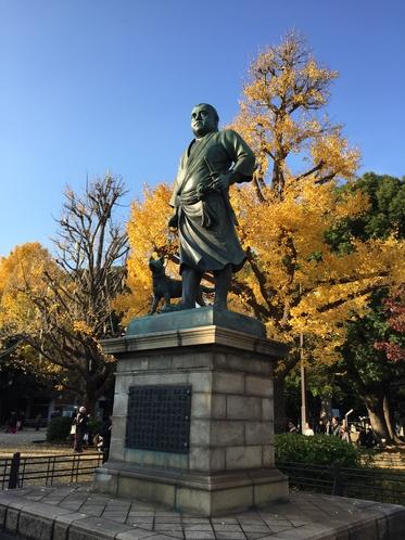 ◆西郷隆盛銅像◆