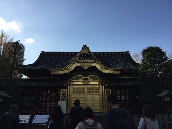◆上野東照宮金殿◆