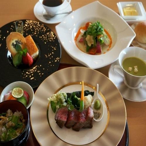お食事 神戸牛ステーキコース
