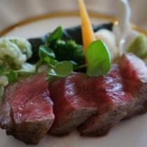 お食事|神戸牛ステーキコース