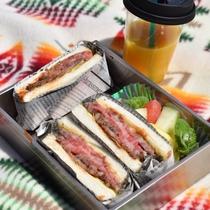 【高原ピクニック】神石牛のローストビーフサンド