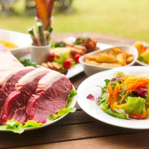 お食事 神石高原で夏のわいわいブッフェ ※イメージ