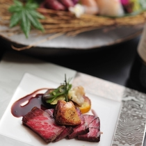 さくらPremiumお肉セレクションディナー ステーキ+フォアグラ