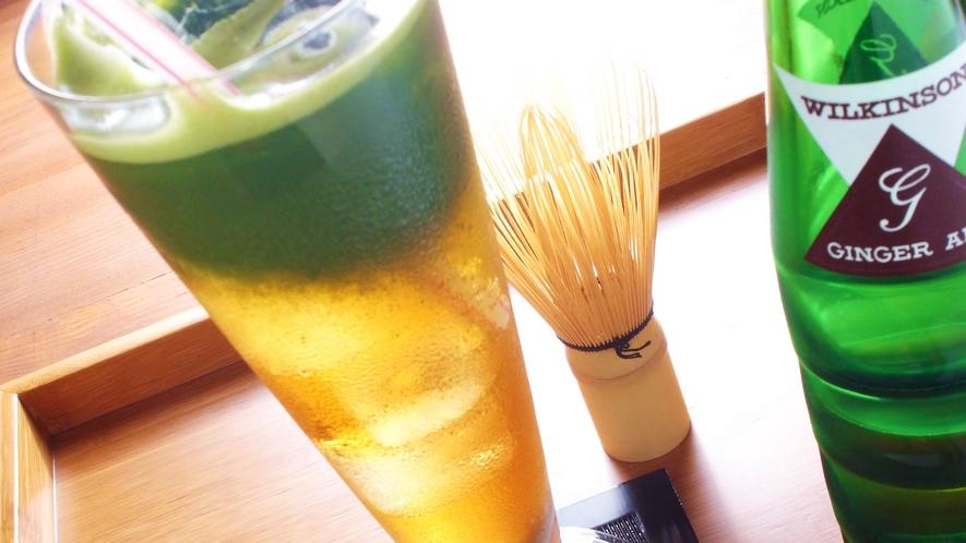 *抹茶ジンジャー(霧の森茶フェゆるり)
