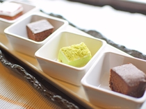 【朝食】食べやすい一口デザート♪