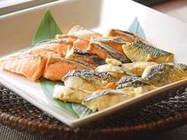 【朝食】焼き魚:朝の定番メニュー