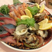 【料理一例】海鮮焼き