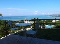 terrace & ocean