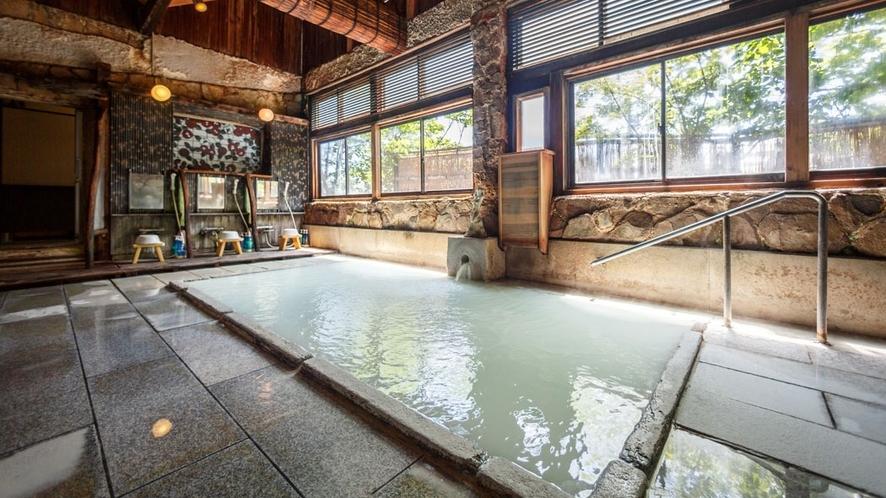 男性浴場「不動の湯」