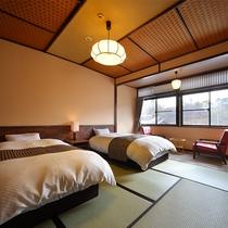 和室ベット付き部屋一例