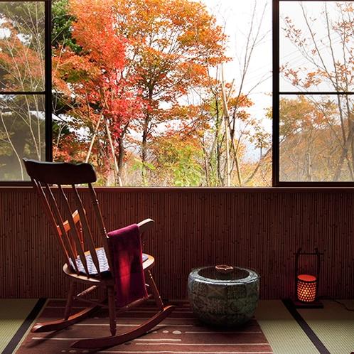 紅葉の季節